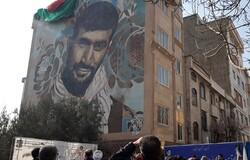 رونمایی از دیوارنگاره اولین شهید مدافع حرم منطقه ۱۹
