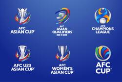 لوگوی لیگ قهرمانان فوتبال آسیا و انتخابی جام جهانی تغییر کرد