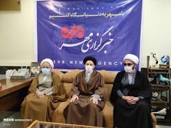 بازدید نماینده ولیفقیه در لرستان از دفتر خبرگزاری مهر