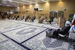 تجدید میثاق با نماینده رهبری در یزد به مناسبت ۱۵ دیماه