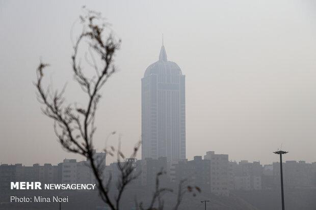 تداوم آلودگی هوا در شهرهای پرجمعیت تا پایان هفته