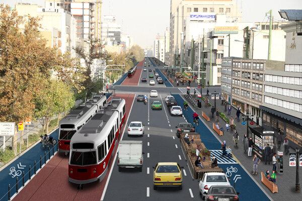 تبدیل خیابان «شهید آیت» به کاملترین و زیباترین معبر منطقه ۴