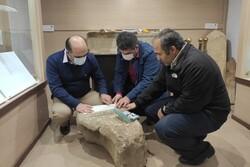 سنگ قبر تاریخی کشف شده در منطقه قلعه رودخان فومن بازخوانی شد