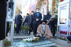 وزیر اطلاعات به مقام شامخ سردار شهید سلیمانی ادای احترام کرد