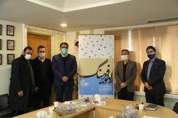 پوشش نمایشگاه مجازی کتاب تهران توسط رادیو فرهنگ