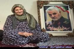 «حاج قاسم» مثل پسرم بود/ پیمودن ۲ هزار کیلومتر برای مراسم تشییع