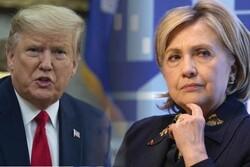 کلینتون: هدیه ترامپ به جهان، خودداری از آغاز جنگ در خاورمیانه است