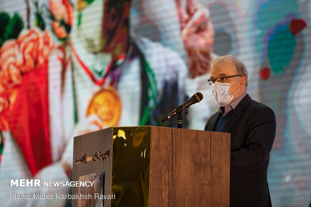 Koronavirüs sebebiyle hayatını kaybeden sağlık çalışanlarına anma töreni