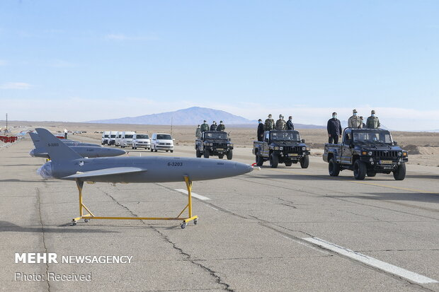 VIDEO: Iran Army's 1st large-scale drone combat drill