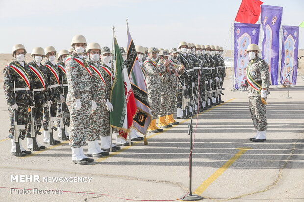 Iran Army's large-scale drone drill
