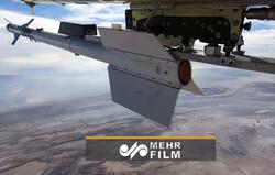 شلیک موفق موشک آذرخش از پهپاد کرار