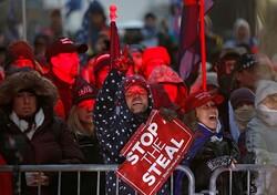 واشنگٹن میں ٹرمپ کے حامیوں کا مظاہرہ