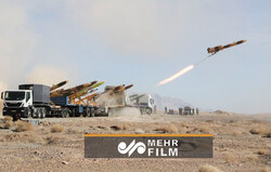 VIDEO: Karrar drone intercepts hostile targets in drill