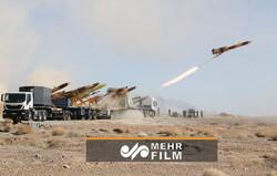 دومین روز رزمایش بزرگ  پهپادی ارتش ایران