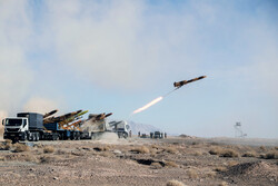 Second day of Iran Army's drone drill