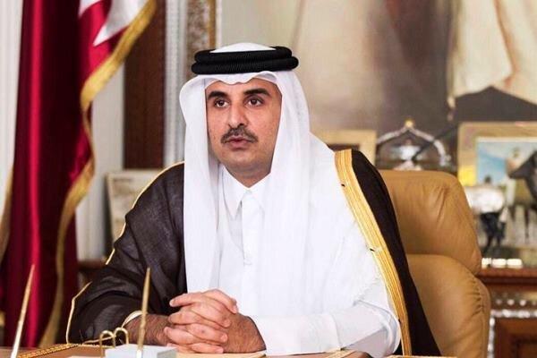 امیر قطر با رئیس جمهور تونس گفتگو کرد