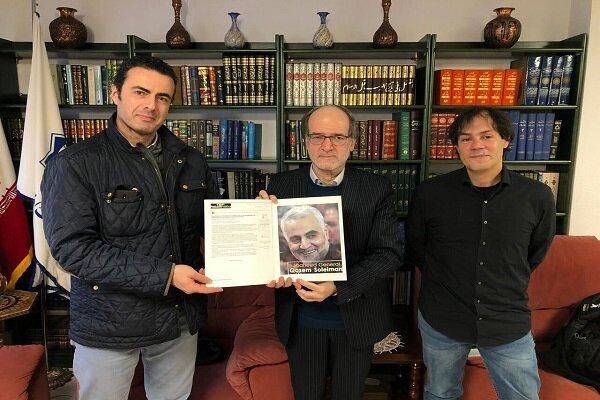 Martyr Soleimani belongs to world's freedom-seeking nations