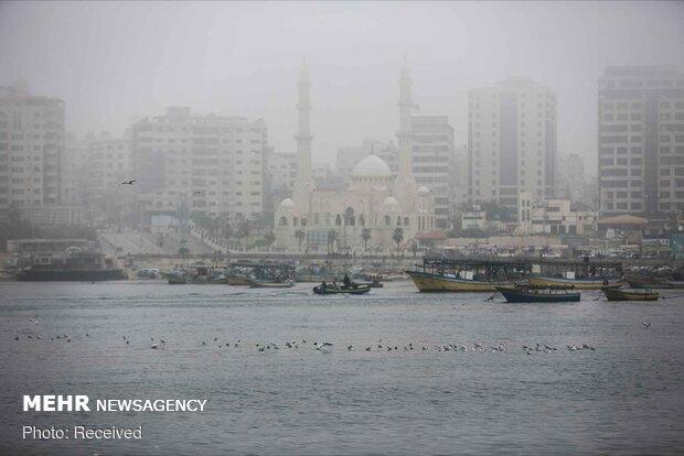 ماهیگیری فلسطینیها در نوار غزه