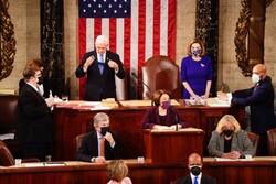 ABD Kongresi Biden'ın başkanlığını resmen onayladı