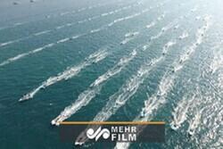 VIDEO: Basiji maritime exercise held in shores of Assaluyeh