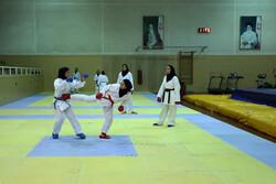 قرعهکشی مسابقات انتخابی تیم ملی کاراته بانوان انجام شد