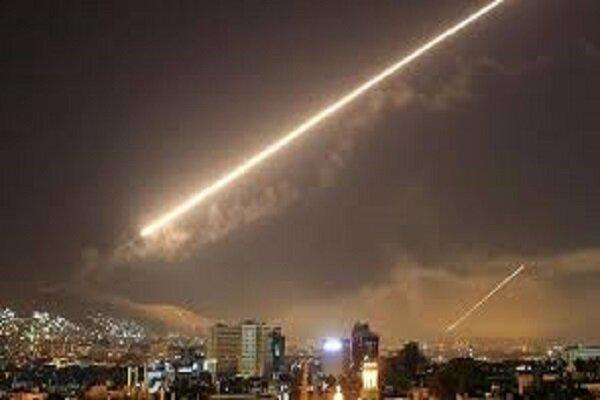 Syria's air defenses confront Israeli missile aggression
