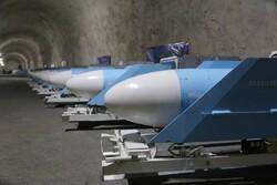 İran'ın yeraltı füze üssü tanıtıldı