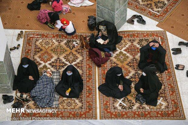 مراسم عزاداری ایام فاطمیه در مدینه العلم کاظمیه یزد