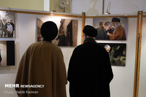 مراسم بزرگداشت اولین سالگرد شهادت سردار سلیمانی در دمشق