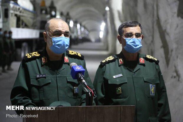 IRGC Naval Missile facility along Persian Gulf