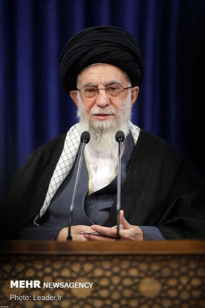 İslam Devrimi Lideri ulusa sesleniş konuşması yaptı