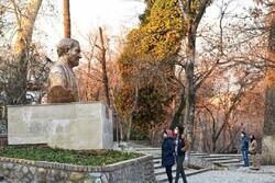 نصب سردیس حاج قاسم سلیمانی در بوستان قیطریه
