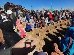 پاکستان میں سانحہ مچھ کے شہداء کو سپرد خاک کردیا گيا