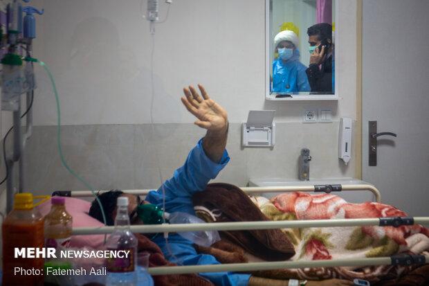 فعالیت طلاب جهادی در بیمارستان