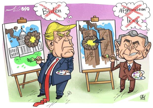 رسّامو الكاريكاتير في البيت الابيض