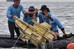 جعبه سیاه هواپیمای مسافربری اندونزی پیدا شد