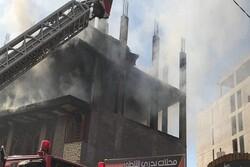 آتشسوزی در کربلای معلی