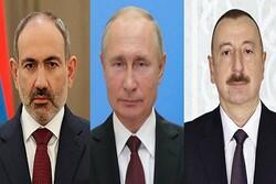 Putin to host Aliyev, Pashinyan on Monday