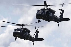 American helicopters conduct provocations over Ain al-Assad