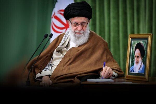قائد الثورة الاسلامية ينعى رحيل حجة الاسلام علوي سبزواري