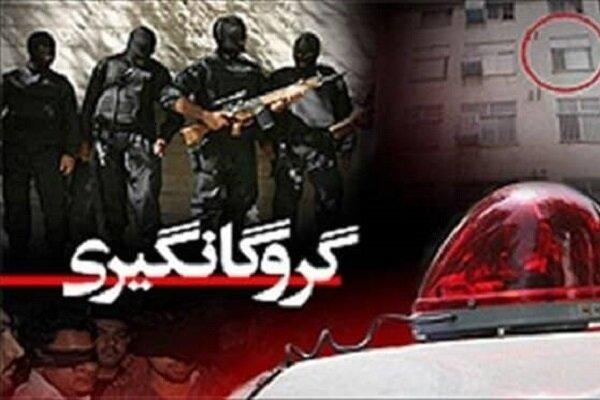 گروگان گیر شرور در درگیری مسلحانه با پلیس کشته شد