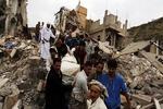 المقاتلات السعودية تستهدف المناطق السكنية في صعدة