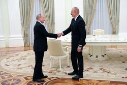 Putin ve Aliyev, Azerbaycan-Ermenistan sınırındaki gelişmeleri görüştü
