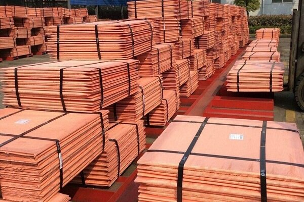 Iran's copper cathode, anode output grow in 10 months