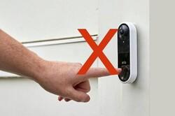 زنگ درب هوشمند غیر لمسی برای کاهش خطرات کرونا