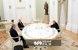Moskova'da Üçlü Karabağ Zirvesi'nden görüntüler