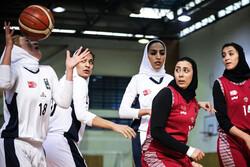 نارسینا تهران در لیگ بسکتبال بانوان سوم شد