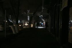 تبریز کے بعض علاقوں میں بجلی بند ہوگئی