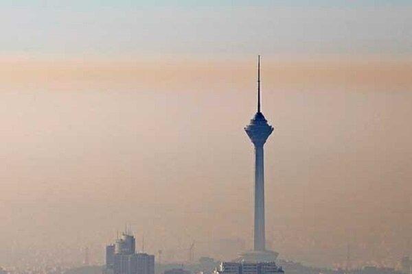 هوای تهران برای گروههای حساس جامعه آلوده است,