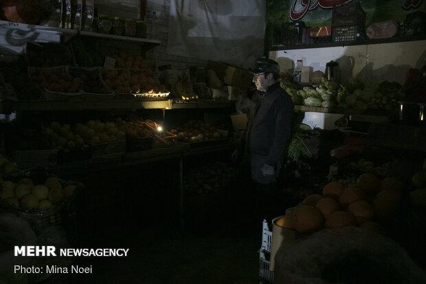 خاموشی در برخی مناطق تبریز